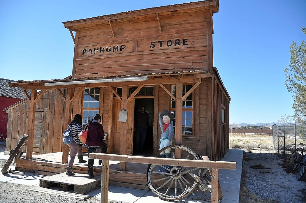 Horace Langford Jr./Pahrump Valley Times - The Pahrump Store on site at the Pahrump Valley Mus ...