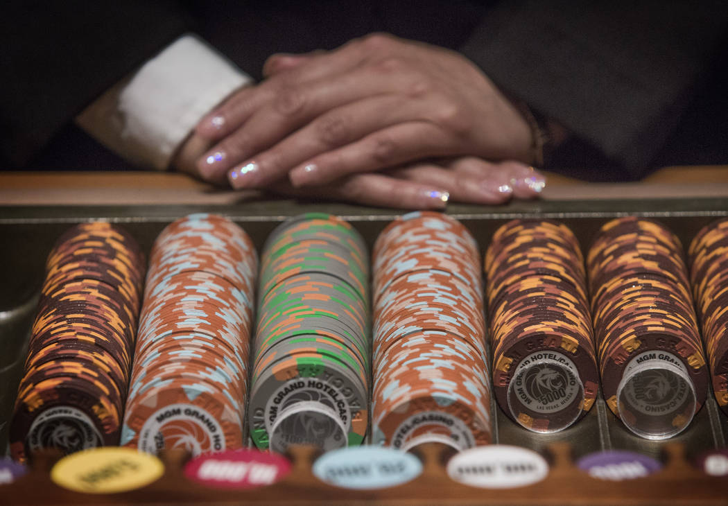 Jeff Scheid/Las Vegas Review-Journal file Baccarat, the table game of choice for many high roll ...