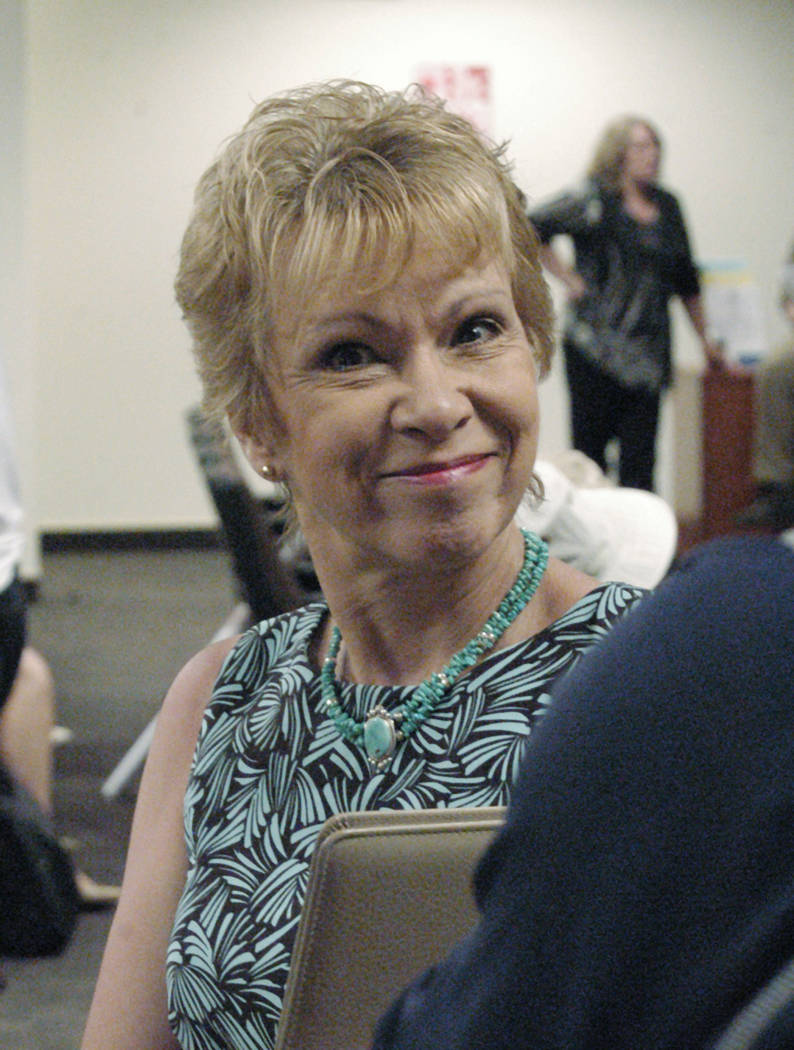 Special to the Pahrump Valley Times Joni Eastley of Tonopah was a Nye County commissio ...