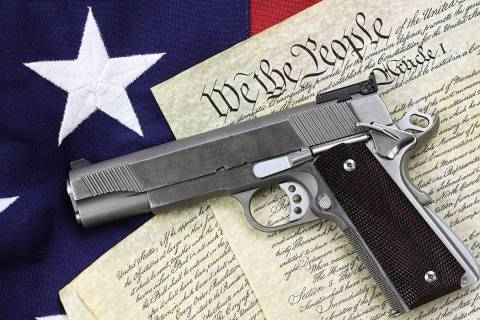Getty Images The Second Amendment is held dear by many valley Republicans, many of whom are den ...