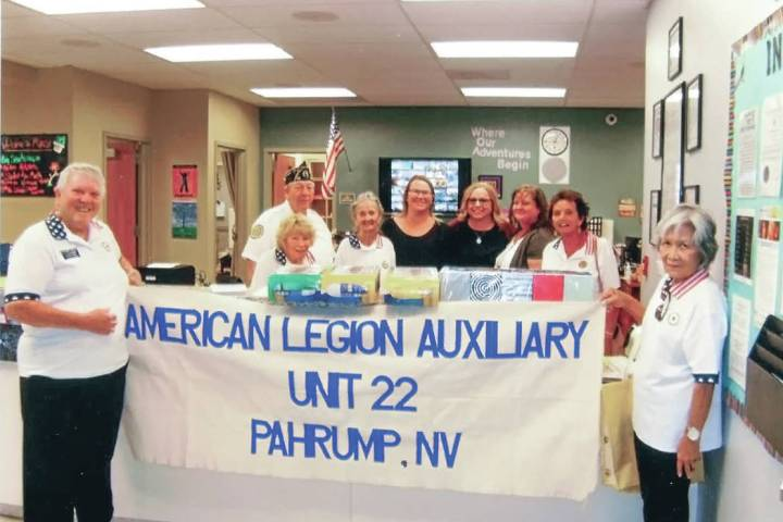 Special to the Pahrump Valley Times The dinner is free for all veterans and their children unde ...