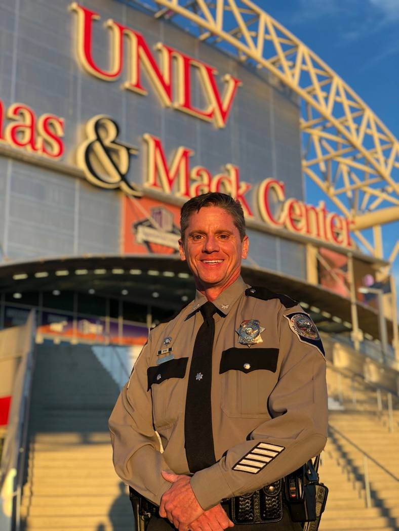 Nevada Department of Public Safety Daniel Solow was promoted to the rank of lieutenant colonel ...