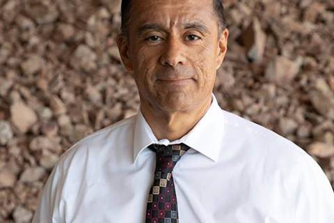 Nevada Department of Transporation Mario Gomez is a 19-year department veteran, most recently s ...