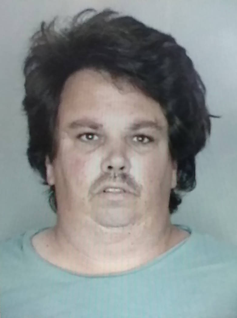 Courtesy of the Nye County Detention Center Thomas Schwartz, brother of Jeannie Newberry, was c ...