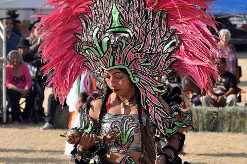 Horace Langford Jr./Pahrump Valley Times This file photo from the 2018 Pahrump Powwow shows an ...