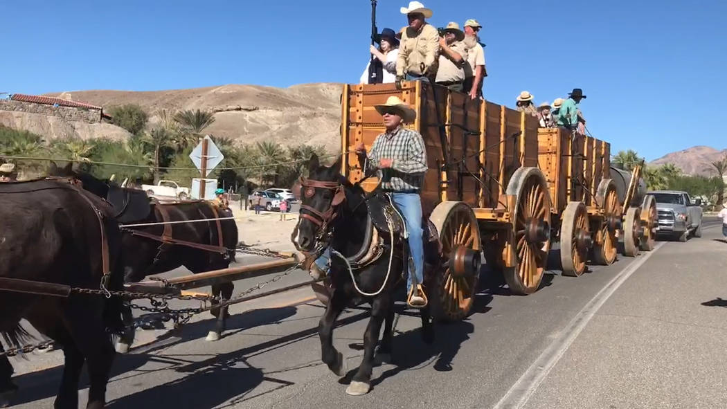 Jeffrey Meehan/Pahrump Valley Times Roughly $400,000 was raised over the last several years for ...