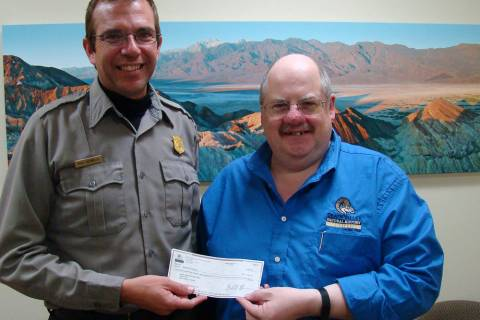 Special to the Pahrump Valley Times David Blacker, executive director of the Death Valley Natur ...