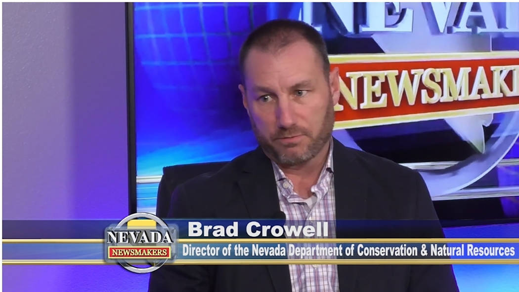 Nevada Newsmakers Brad Crowell questioned if the proposed pipeline to bring water from rural Ea ...