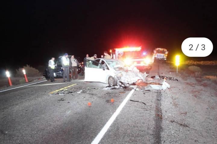 Nevada Highway Patrol Claranisha Alexis Johnson of Glendale, Arizona, was killed in the Nov. 4 ...