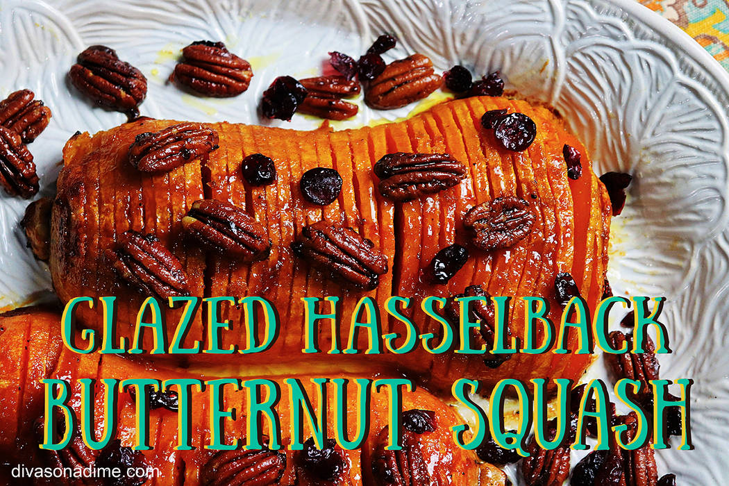 Patti Diamond/Special to the Pahrump Valley Times Hasselback is a popular technique of preparin ...