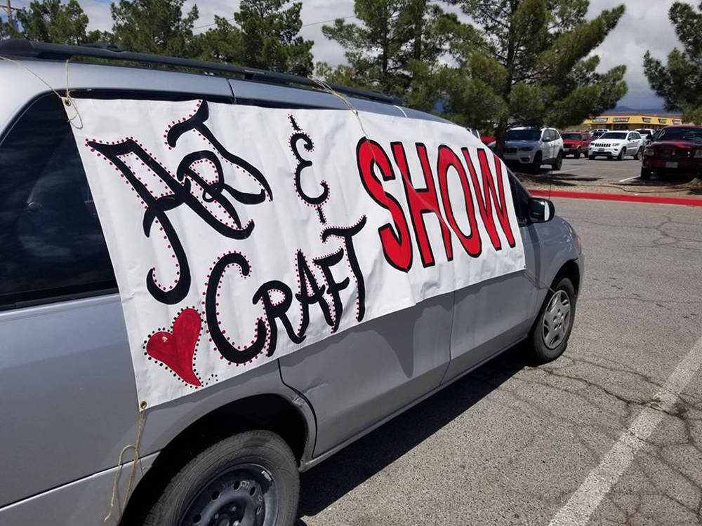David Jacobs/Pahrump Valley Times Art and craft shows are a key venue for local artists wishing ...