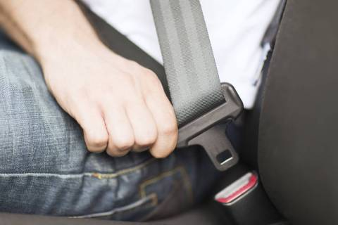 """Thinkstock """"Buckling up is the single most effective thing you can do to protect yourself in a ..."""