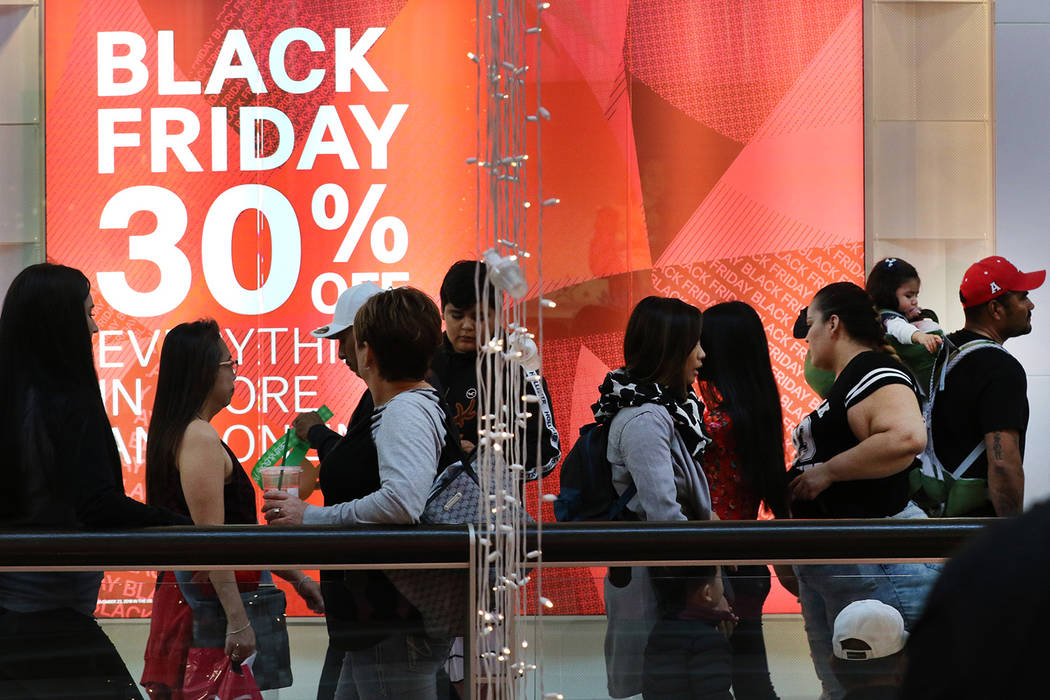 Bizuayehu Tesfaye/Las Vegas Review-Journal Black Friday, as usual, will be the busiest day of ...