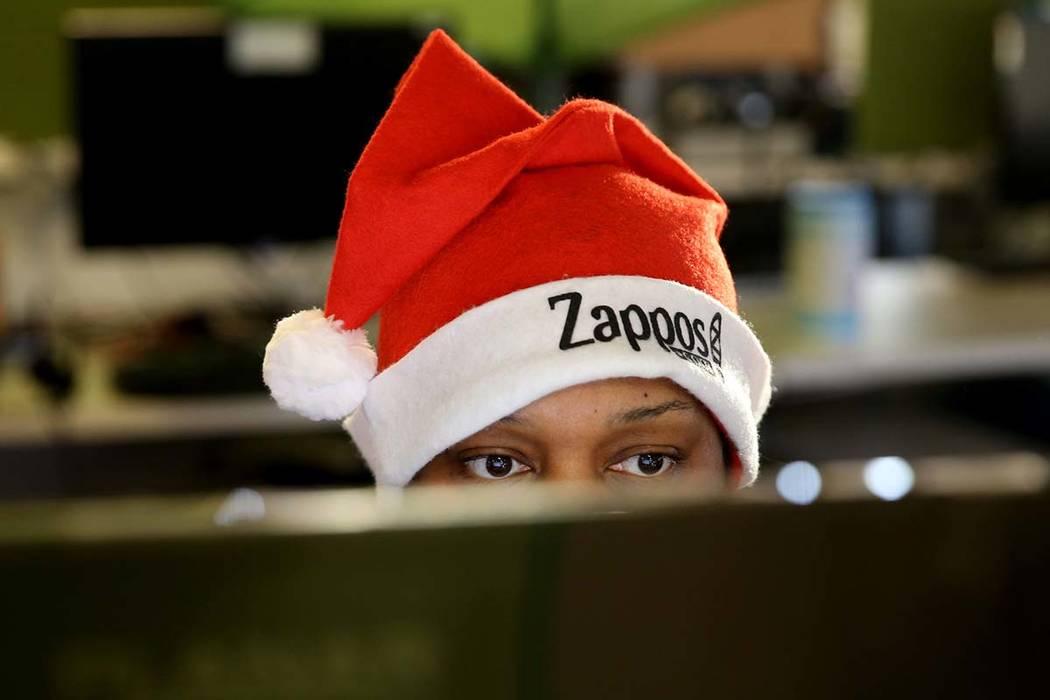 K.M. Cannon/Las Vegas Review-Journal file Customer Loyalty Team members, including Felisha Jone ...