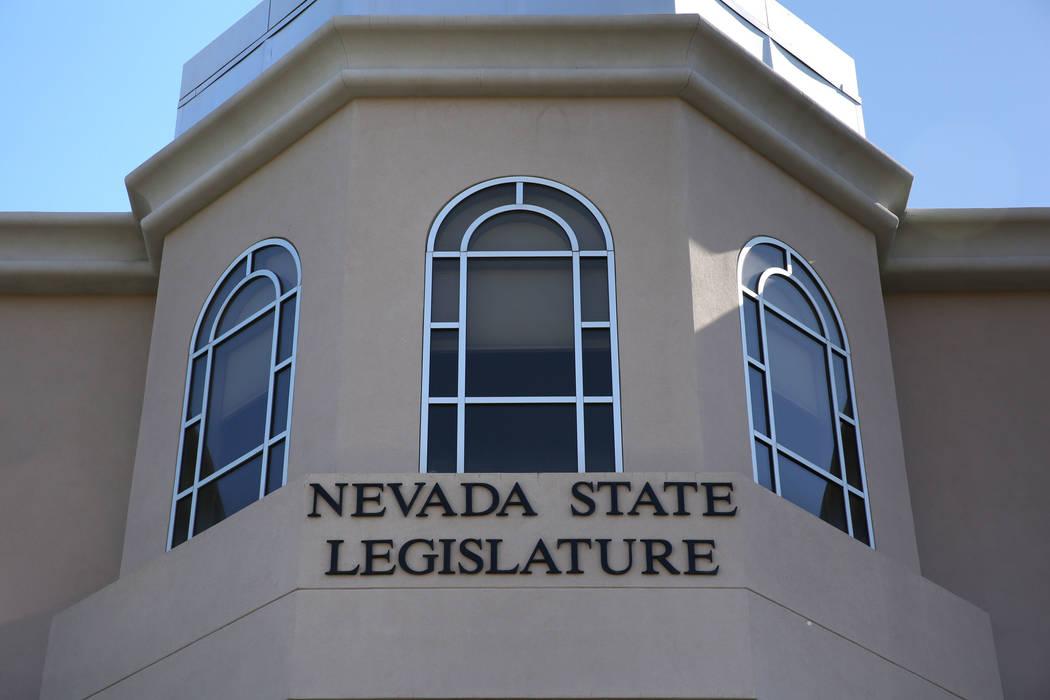 David Guzman/Las Vegas Review-Journal The last Nevada state Legislature gave a strong indicati ...