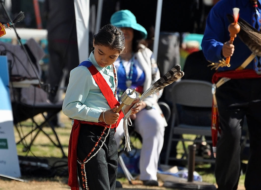 Horace Langford Jr./Pahrump Valley Times The powwow not only attracts attendees from across the ...