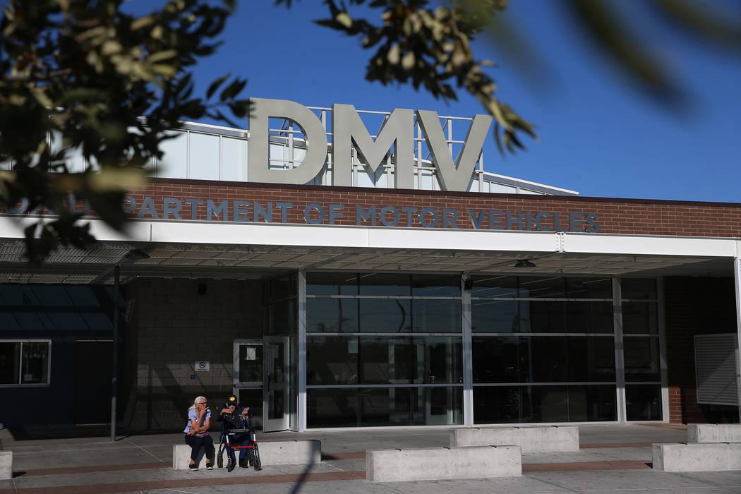 Erik Verduzco/Las Vegas Review-Journal Nevada DMV offices are closed four days from Thanksgivin ...