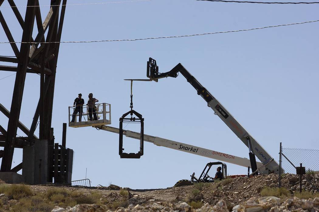 "Photo courtesy THMP Foundation and Russ Gartz A town of Tonopah official called the project "" ..."