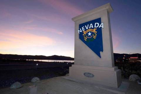 Nevada Department of Transportation A new monument welcoming people to Nevada will be installed ...