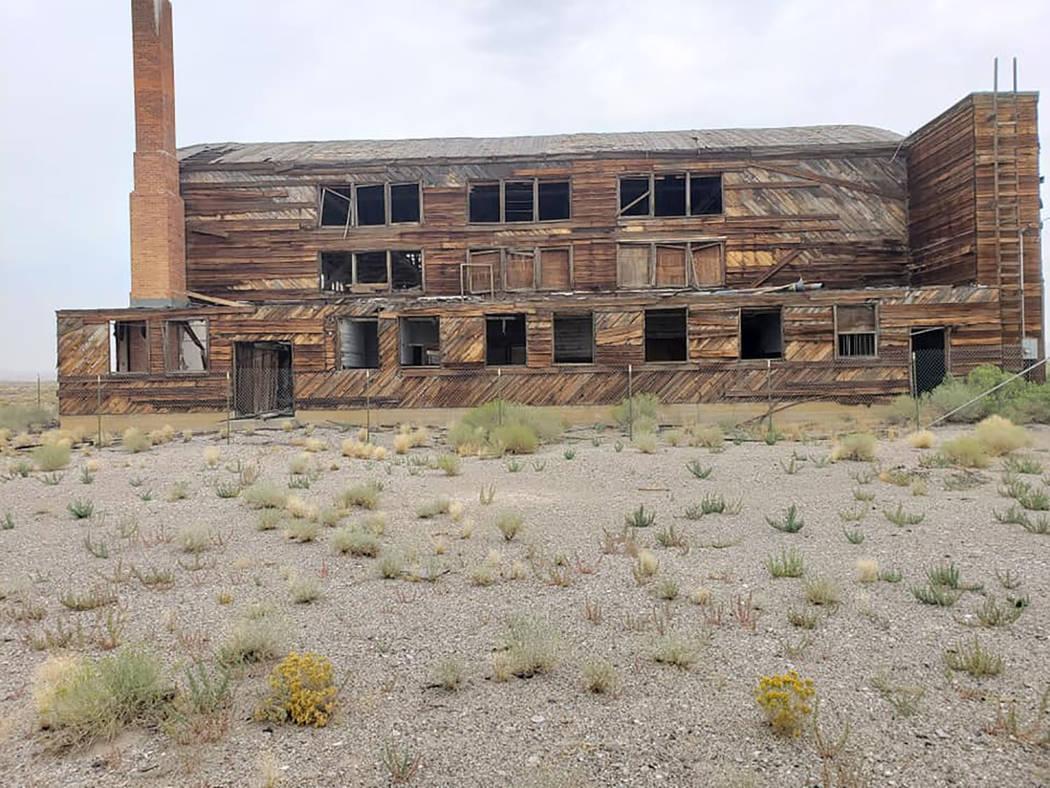 Nancy Whipperman/Pahrump Valley Times As a historian, Allen Metscher has been researching the ...