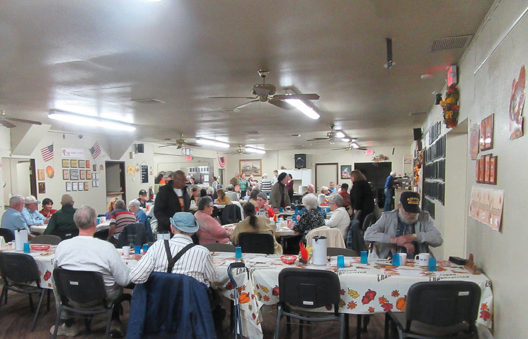 Special to the Pahrump Valley Times Upwards of 200 guests visited the Pahrump Senior Center for ...