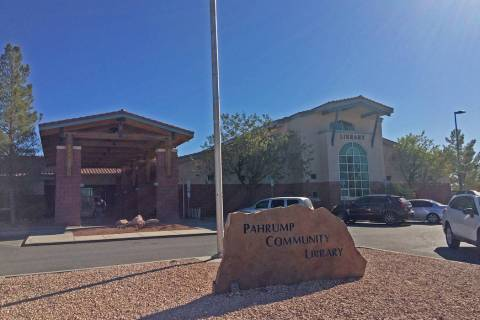Robin Hebrock/Pahrump Valley Times The Pahrump Community Library is located at 701 East Street ...