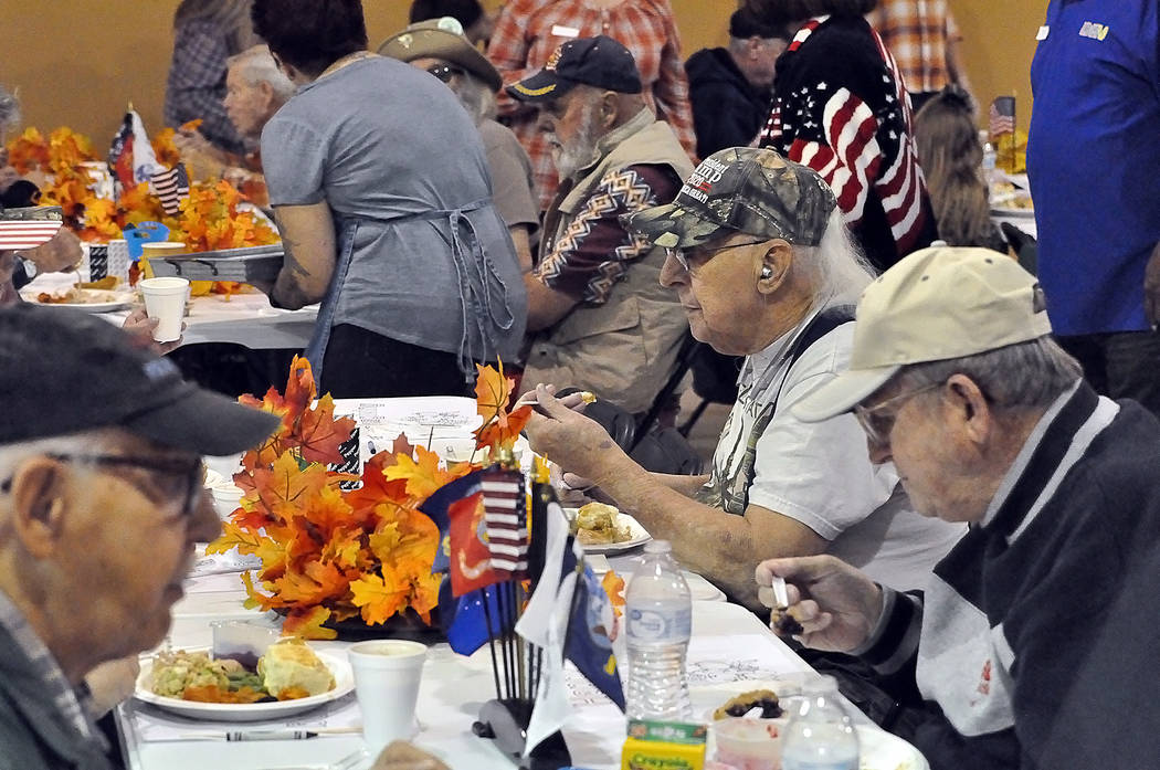 Horace Langford Jr./Pahrump Valley Times The New Holiday Task Force hosted the Community Outre ...