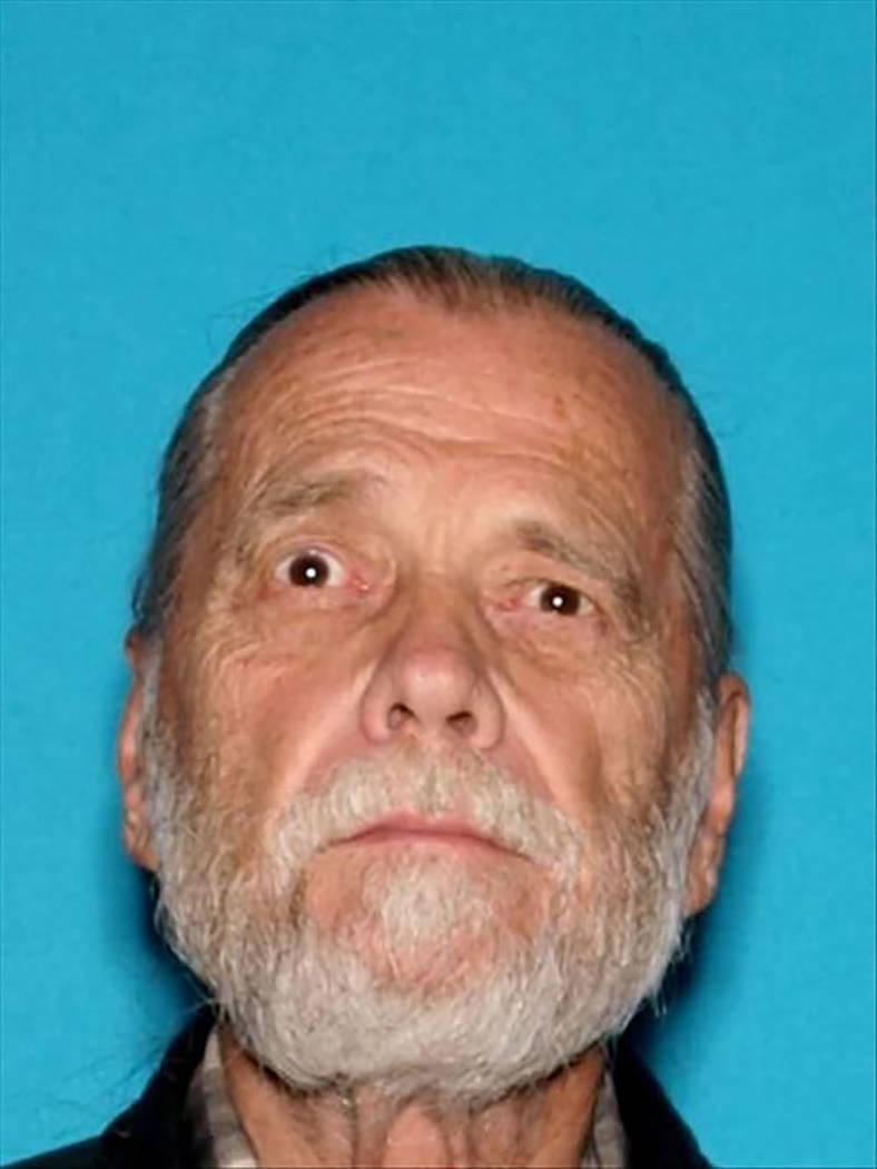 Inyo County Sheriff's Office/Facebook Rolin Bruno, a 76-year old from Arrowbear, Calif., was re ...