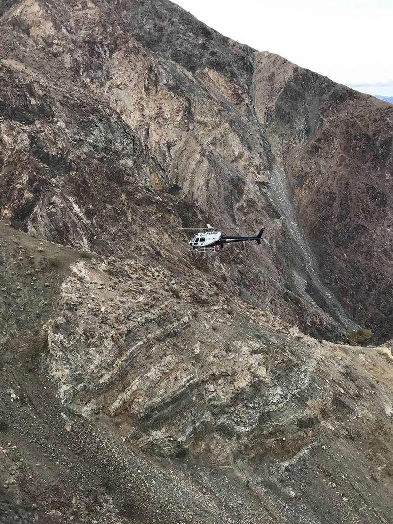 Inyo County Sheriff's Office/Facebook The California Highway Patrol's Inland Division Air Opera ...