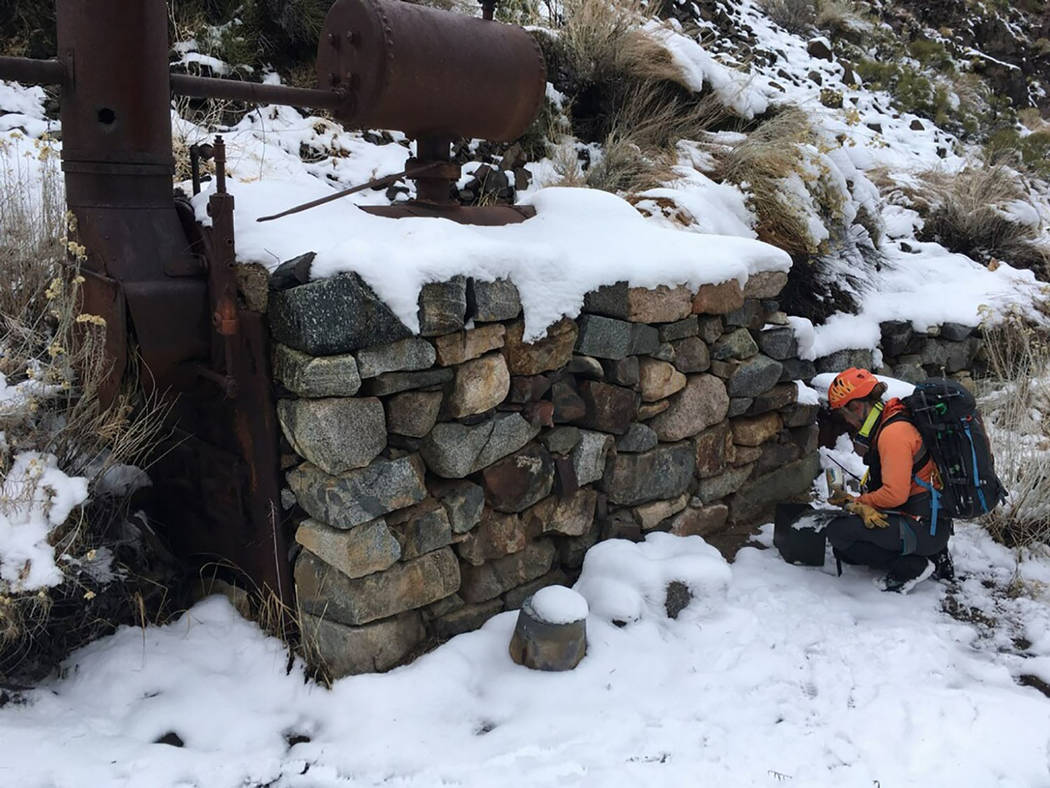 Inyo County Sheriff's Office/Facebook On Thursday, Nov. 28 a severe winter storm impeded search ...