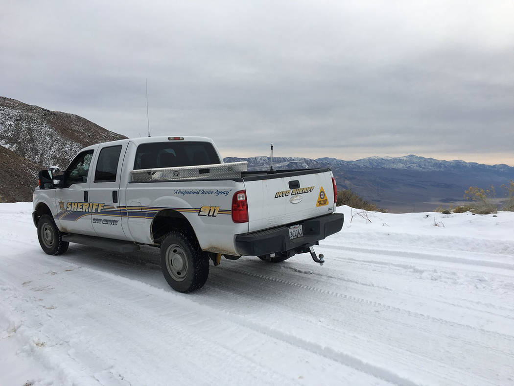 Inyo County Sheriff's Office/Facebook The Inyo County Sheriff's Office received notification ...
