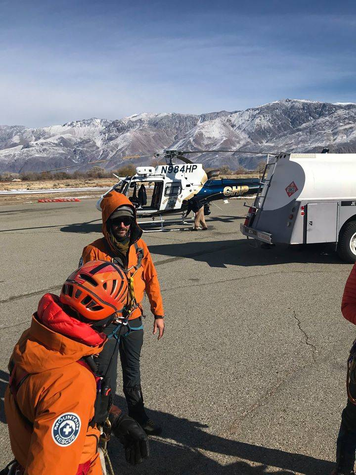 Inyo County Sheriff's Office/Facebook Aerial assistance has been provided by: CHP Inland Divisi ...