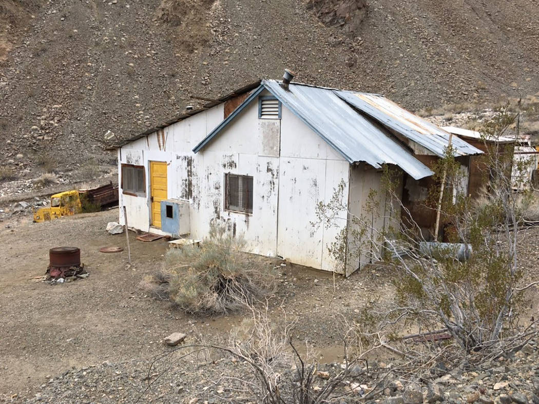 Inyo County Sheriff's Office/Facebook Inyo County deputies searched nearby mining cabins. Deput ...