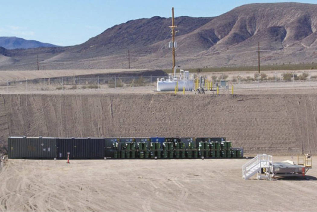 File photo courtesy U.S. Department of Energy The Nevada National Security Site is managed and ...