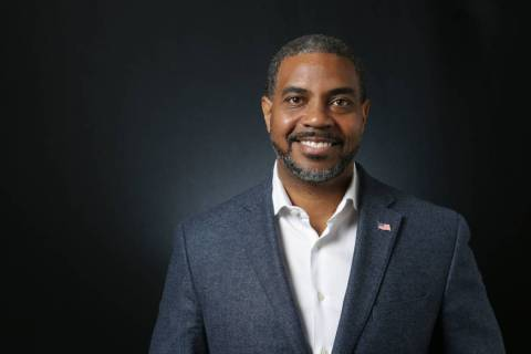 Michael Quine/Las Vegas Review-Journal U.S. Rep. Steven Horsford,D-Nevada, joined two other U.S ...