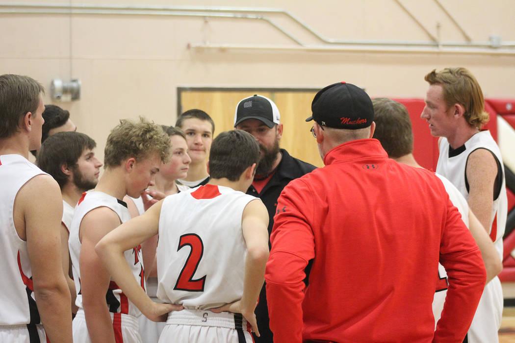 Tom Rysinski/Times-Bonanza & Goldfield News The Tonopah High School boys basketball team that g ...