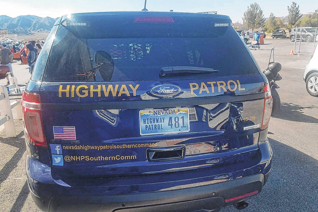 Nevada Highway Patrol The Nevada Highway Patrol is investigating the crash in Nye County.