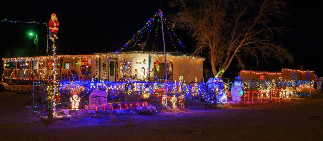 Richard Stephens/Special to the Pahrump Valley Times This year first place in the residential c ...