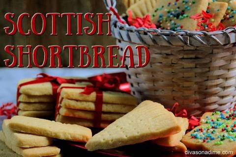 Patti Diamond/Special to the Pahrump Valley Times Not overly sweet, Scottish shortbread is a pl ...