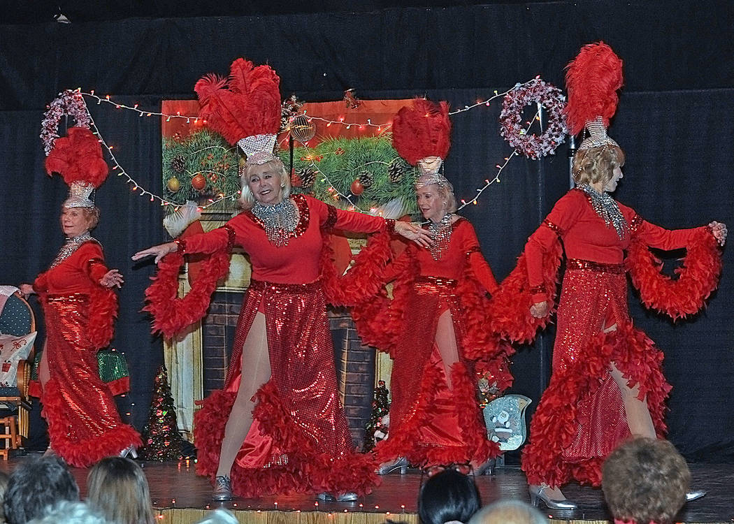 Horace Langford Jr./Pahrump Valley Times The Nevada Silver Tappers sparkle and shine as they da ...