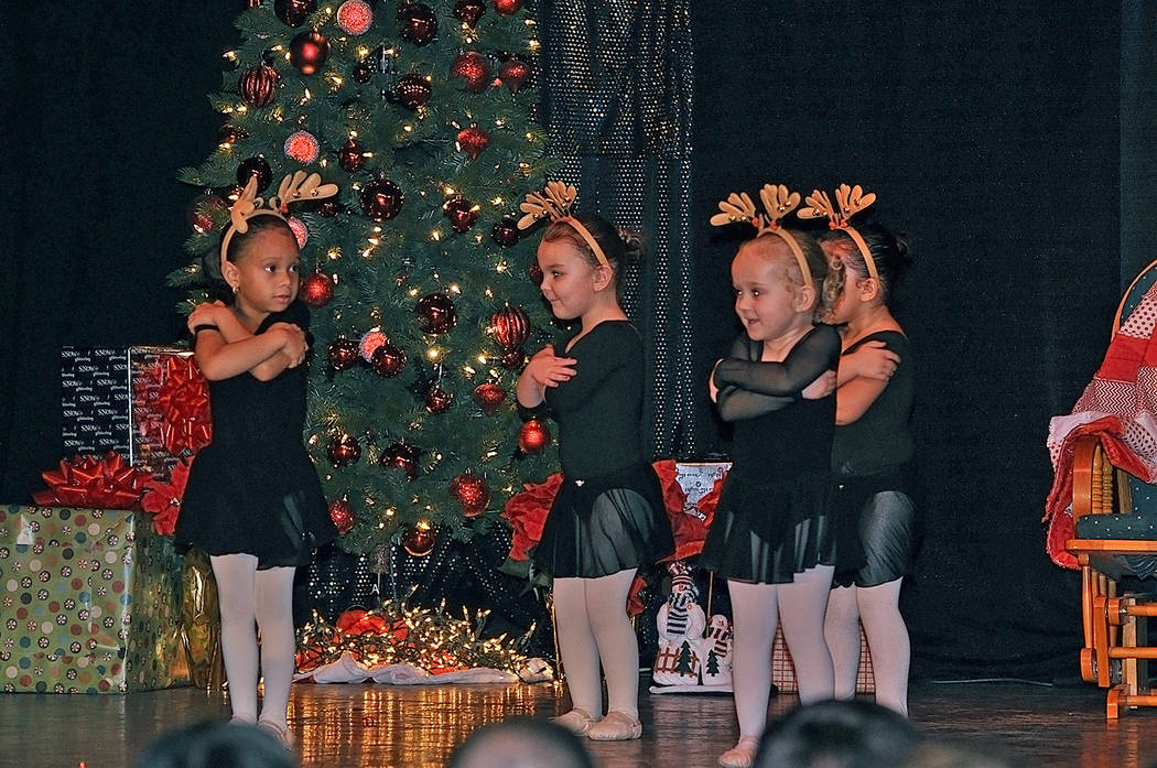 Horace Langford Jr./Pahrump Valley Times Donna's Angels from Donna's Dance Studio were an adora ...