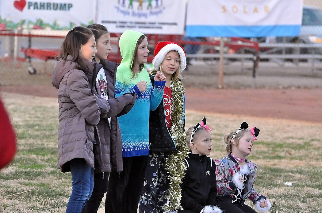 Horace Langford Jr./Pahrump Valley Times A group of youngsters is pictured enjoying their after ...