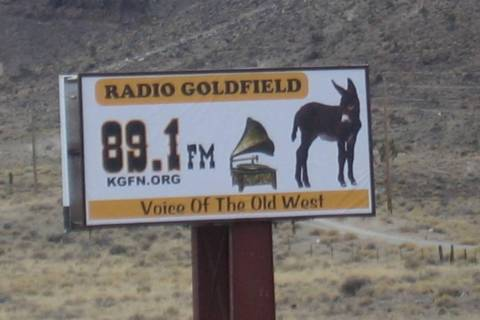 Carl Brownfield/Special to the Pahrump Valley Times The radio station has gone from 150 watts o ...