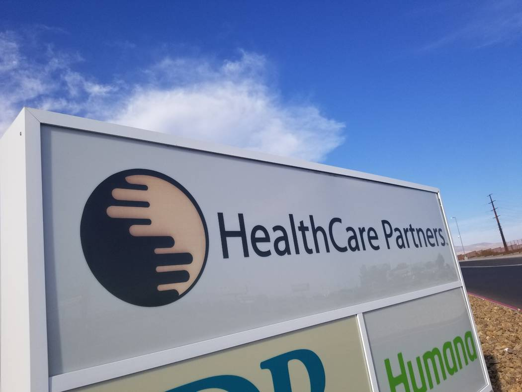 David Jacobs/Pahrump Valley Times HealthCare Partners opened its 57,000-square-foot medical fac ...