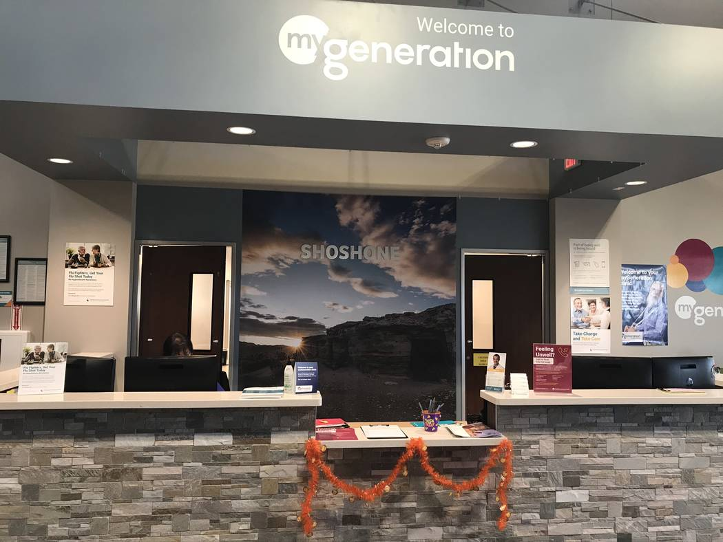 Jeffrey Meehan/Pahrump Valley Times A myGeneration Senior Clinic was opened at the HealthCare ...