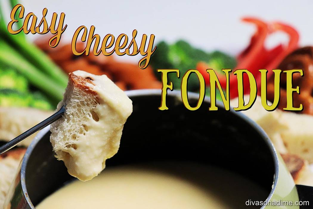 Patti Diamond/Special to the Pahrump Valley Times Fondue is a scrumptious party food that's f ...