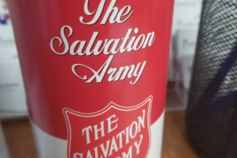 David Jacobs/Pahrump Valley Times In Pahrump, the Salvation Army provided thousands of pounds o ...