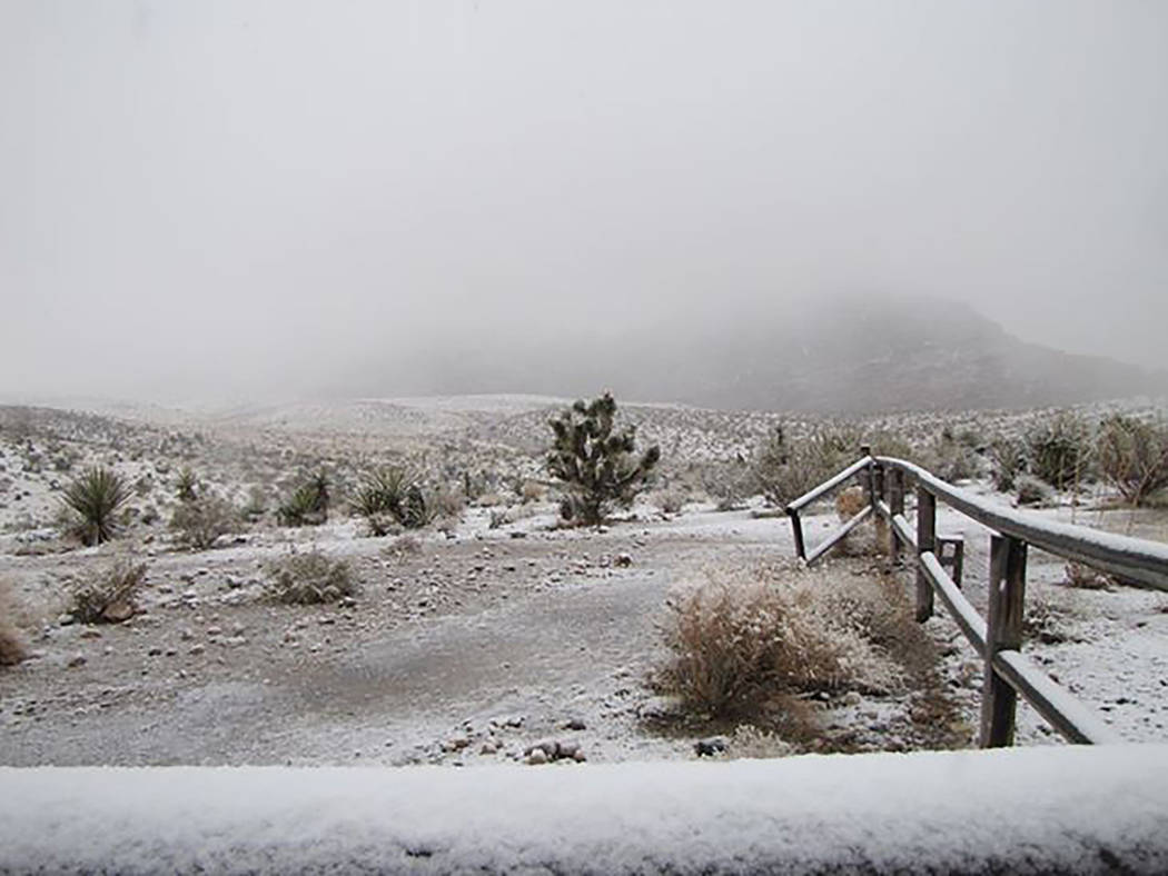 Southern Nevada Conservancy The Southern Nevada Conservancy snapped this photo oh Thursday of t ...