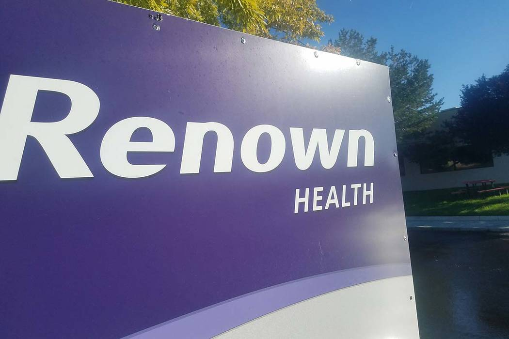 David Jacobs/Times-Bonanza Reno-based non-profit healthcare network Renown Health had opened a ...