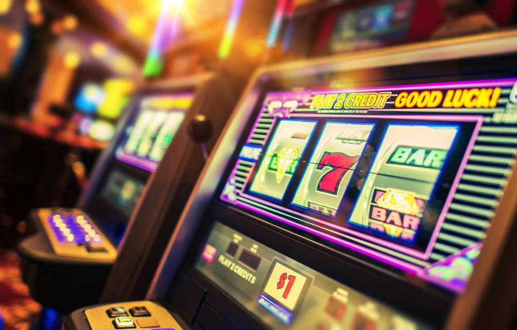 Getty Images Nye County gaming establishments experienced a gain of more than 7% in gaming win ...